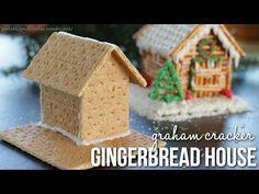 DIY: How to Make Graham Cracker Gingerbread Houses!! - YouTube