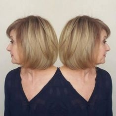 Vintage Hairstyles With Bangs Over Bob With Bangs - Modern Haircuts, Modern Hairstyles, Cool Hairstyles, Gorgeous Hairstyles, Hairstyles 2016, Vintage Hairstyles, Hairstyles Over 50, Short Bob Hairstyles, Blonde Bob With Bangs