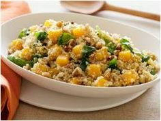 Week 5 Butternut Squash with Quinoa Spinach and Walnuts Bootcamp Ireland