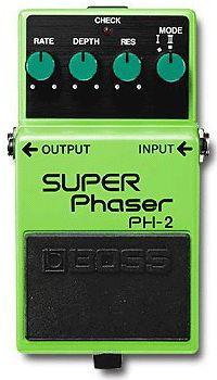 Boss Super Phaser guitar effect pedal