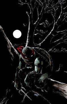TMNT: Raphael: Bad Moon Rising #1 by `mooncalfe