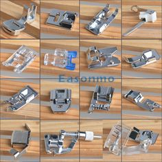 New Multiple Domestic Sewing Machine Foot Feet Bobbin Fit Brother Singer Toyota Sewing Machine Tension, Sewing Machine Presser Foot, Sewing Machine Parts, Sewing Machine Reviews, Brother Sewing Machines, Old Sewing Machines, Sewing Hacks, Sewing Tutorials, Sewing Tips