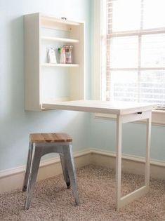 mesa plegable para espacios reducidos