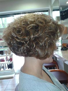 Cut and colour! Natural curly!