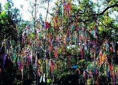 Mardi Gras beads...