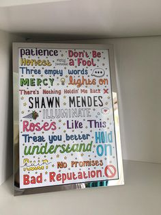SHAWN MENDES POSTER // illuminate