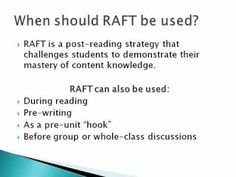 Free raft role audience format topic introduction on how to raft writing resources powerpoints rubrics templates assignments pronofoot35fo Image collections