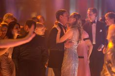 Pierre Casiraghi and Beatrice Borromeo stealing a kiss on the dancefloor.