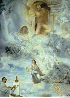 The Ecumenical Council, 1960, Salvador Dalí