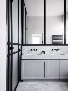 Bathroom   Elsternwick Home by Mim Design   est living