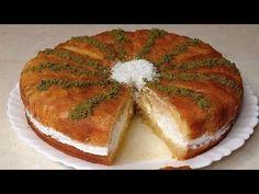KAYDETME VE BEĞENİ REKORU KIRAN PADİŞAH TATLISI TARİFİ - YouTube The Creator, Food And Drink, Tart, Cooking, Breakfast, Desserts, Youtube, Cheesecake Cake, Kitchens