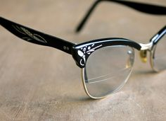 Your Eyes are Sparkling  Vintage Aluminum Cat Eye by becaruns, $88.00