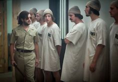 IFC Films releases The Stanford Prison Experiment trailer starring Billy Crudup, Michael Angarano, and Ezra Miller, and based on a true story. Michael Angarano, Michael Cera, Ezra Miller, Brett Davern, Stanford Prison Experiment, 2015 Movies, Scientific American, Sundance Film Festival, Film Review