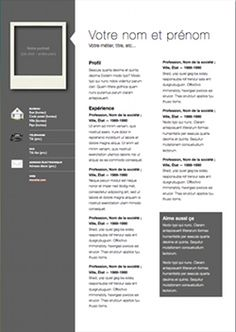 Corporate CV Template Page  By Doric Design Resume And Job - Resume template pages