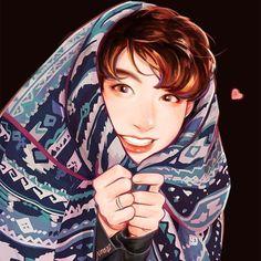 Peekaboo #jungkook #btsfanart #youngforever