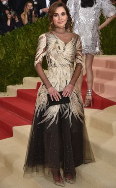 Queen Rania of Jordan from Met Gala 2016: Red Carpet Arrivals  In Valentino