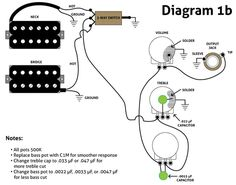 Wiring Diagram for Tele with early
