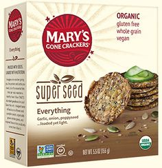 Mary's Gone Crackers Super Seed Everything |