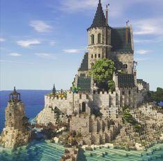 Minecraft Shops, Minecraft Cottage, Minecraft Building Guide, Cute Minecraft Houses, Minecraft Mansion, Minecraft Castle, Minecraft Plans, Amazing Minecraft, Minecraft Blueprints