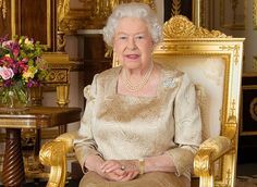 A new official portrait of Queen Elizabeth for Canada Day