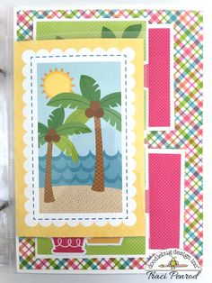 Doodlebug Design Inc Blog: Fun in the Sun Collection: Summer Album by Traci Penrod