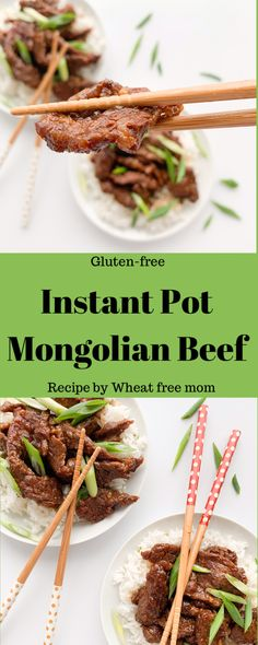 10 Most Misleading Foods That We Imagined Were Being Nutritious! This Instant Pot Recipe Is So Easy And Tastes As Good As Take Out Gluten Free Soy Sauce, Gluten Free Recipes, Mongolian Beef Recipes, Beef Round, Instant Pot Dinner Recipes, Up Book, No Cook Meals, Freezer Meals, On Repeat