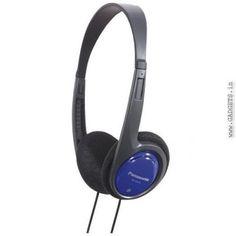 Panasonic Headphone w/Deep Bass for Ipod / MP3 Player RP-HT010GU-A
