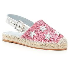 Glitter Espadrilles (283 265 LBP) ❤ liked on Polyvore featuring shoes, sandals, chiara ferragni, glitter shoes, chiara ferragni shoes, espadrille sandals and espadrille shoes