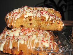 The Kitchen Whisperer White Chocolate Raspberry Almond Biscotti