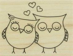 Heart Owls