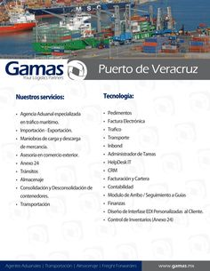 Port of Veracruz Services and Tech  www.gamas.mx