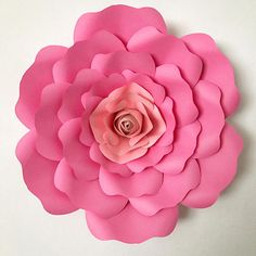 1273 best paper flowers images on pinterest in 2018 paper flowers digital pdf paper flower template with base for your beautiful diy flowers project mightylinksfo