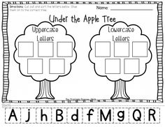 Apple themed activities perfect for the beginning of Kindergarten... perfect for the beginning of fall!