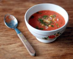 During the warm summer months, there is almost nothing better to cool down than a refreshing cold soup.