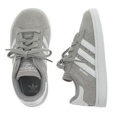 Crew for the Kids' junior Adidas® Campus sneakers for Boys. Find the best selection of Boys Clothing available in-stores and online. Toddler Boy Fashion, Little Boy Fashion, Toddler Boy Outfits, Toddler Shoes, Baby Boy Outfits, Kids Outfits, Kids Fashion, Grey Fashion, Toddler Boy Sneakers
