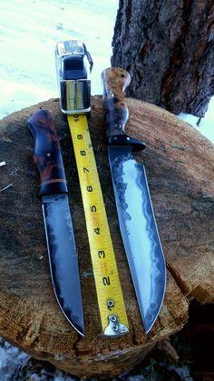 Dark Timber Custom Knives | North Wood Carver & Buffalo Fighter