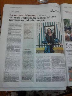 ABC Sevilla, Pintora de Graffiti a la Feria de Abril 2015