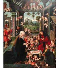 Kaartjes sturen Jacob Cornelisz. van Oostsanen, Aanbidding