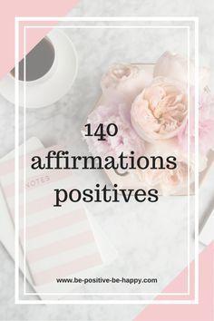 140 affirmations positives