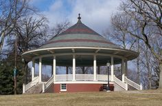 The Bandstand at Farquhar Park in York, PA Outdoor Buildings, Outdoor Structures, York Pa, Scary Places, Local History, Old Wood, Great Memories, Peaches, Exterior Design
