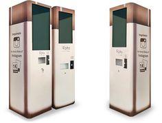 Fotos de Instagram impresas en una máquina de vending