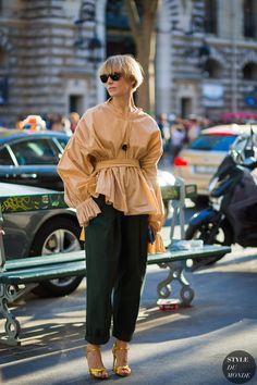 Vika Gazinskaya by STYLEDUMONDE Street Style Fashion Photography
