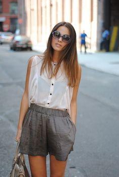 sleek summer style.