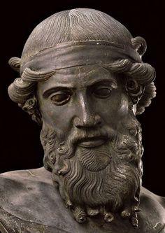 Dionysus (detail). 1st century C.E. | Herculaneum, Villa dei Papiri