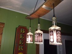 Cool ManCaves - Jack Daniels Lights by McIntoshDesignWorks on Etsy, $165.00 #thatseasier #cool #mancaves
