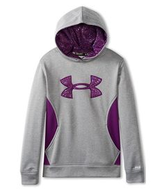 Under armour kids girls' armour ® fleece storm big logo hoodie (big ki Milan Fashion Weeks, New York Fashion, Big Kids, Kids Girls, Under Armour Outfits, Under Armour Kids, Sport Wear, Cute Shirts, Sport Fashion