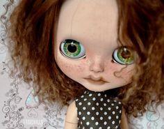 Annie OOAK Custom Blythe doll カスタムブライス by UnnieDolls on Etsy