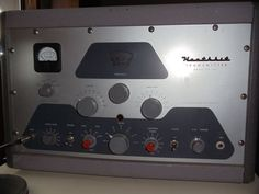 Heathkit DX100. My father and I built one of these. We had lots of fun communicating with other amateur radio operators.