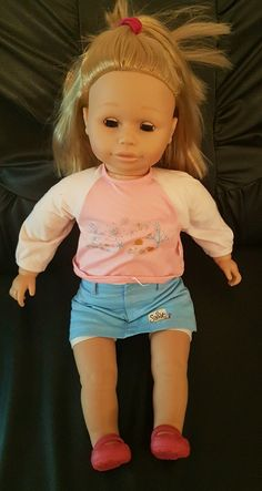 """ Zapf Creation"" Sally Best Friend Original  Wearing original clothing and shoes   Blonde and blue eyes 