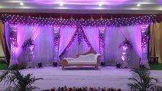 M-Company Marriage Hall Decoration, Engagement Stage Decoration, Wedding Hall Decorations, Wedding Reception Backdrop, Wedding Mandap, Flower Decorations, Cradle Decoration, Mehndi Decor, Background Decoration